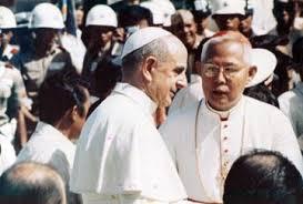 Manila Archbishop Cardinal Santos at the Vatican
