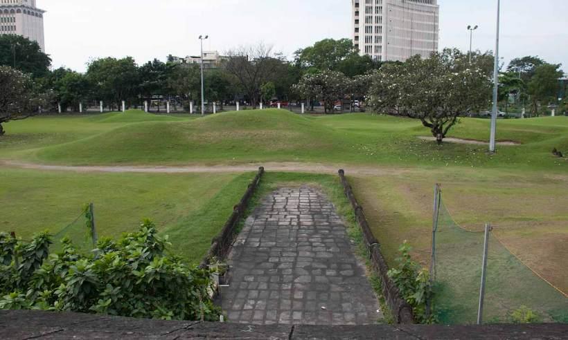 The Postigo Gate in Intramuros.