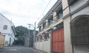 2017 photo of the site of the former Casa San MIguel Jesuit guest house in Intramuros, Manila - where Takayama Ukon and his family stayed.