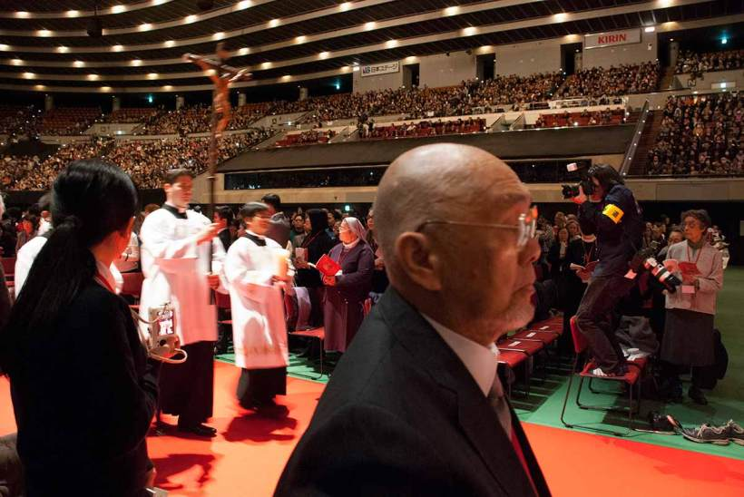 Justo Takayama Ukon Beatification, Osaka-jo Hall, Osaka, 7 February 2017