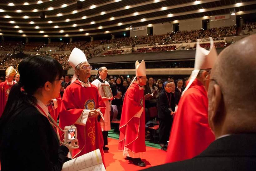 Justo Takayama Ukon Beatification, Osaka-jo Hall, Osaka, 7 February 2017