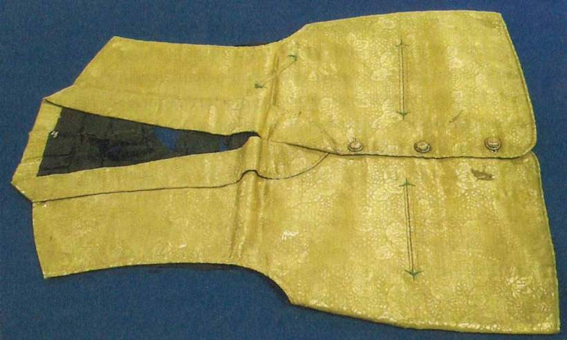 Vest relic of Blessed Justo Takayama Ukon