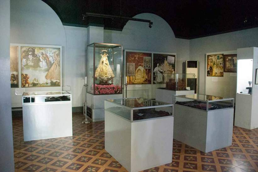 Display at the Museo de Sto Domingo.