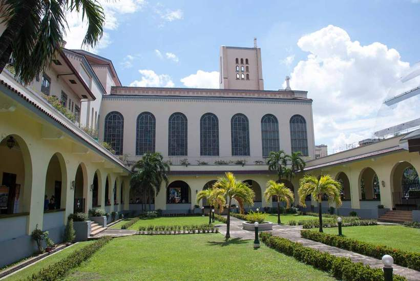 Santo Domingo Church in Quezon City