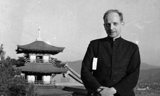Fr. Arrupe led the first response team to aid the hapless victims of the A-Bomb