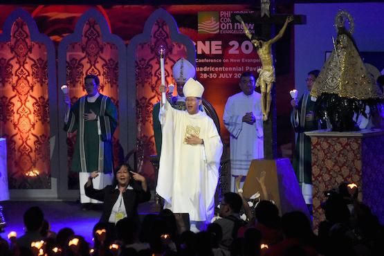 Cardinal Tagle at PCNE 4
