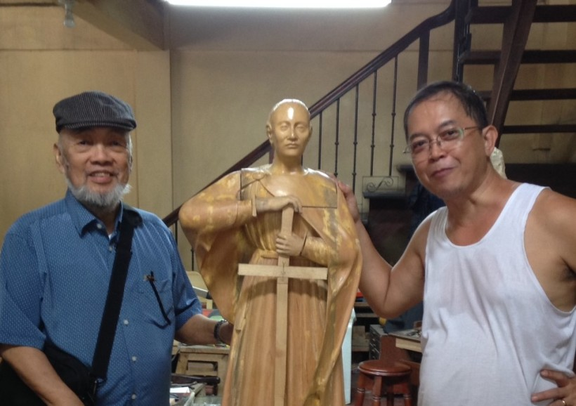 Paete Is the Go-To Place for Wood-Carved 'Santos' for Philippine Churches
