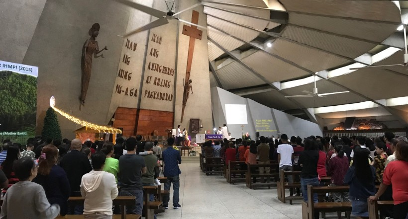 Holy Mass at Claret Church, Quezon City, Philippines