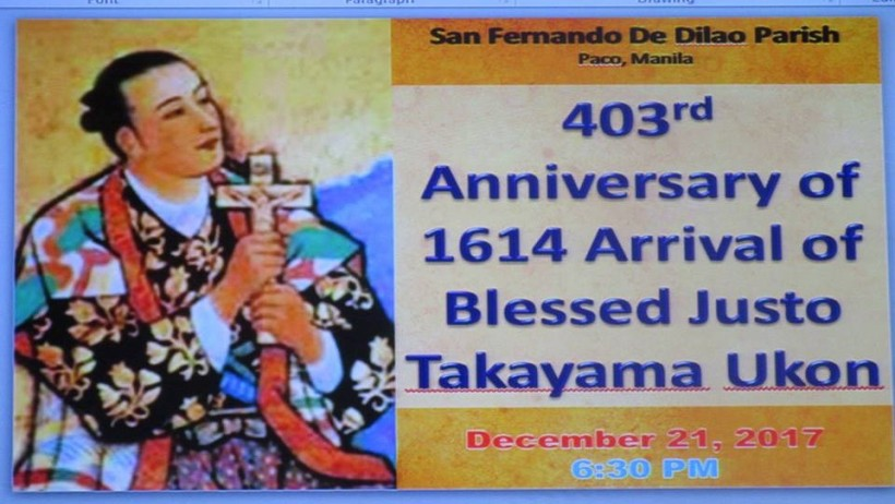 The Paco parishioners' response was superb -- and augurs well for the spread of devotion to Blessed Takayaa de Manila.