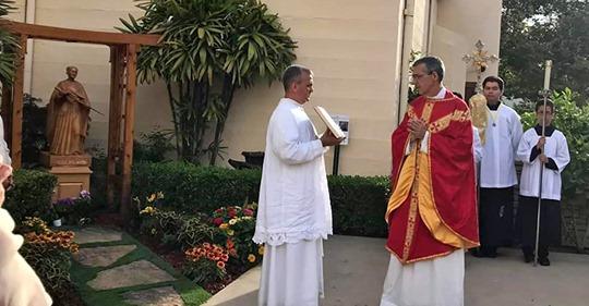Fr. Hildebrand Garceau, SPPC. Wilmington, CA